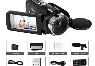 Camcorder 48MP WiFi