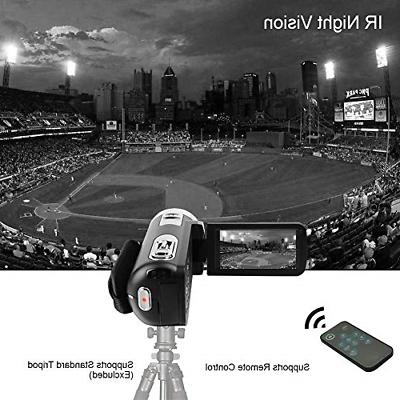 Camcorder Video HD 1080p 18X Digital with