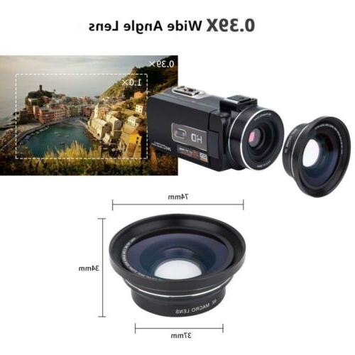 Camcorder HD Digital Zoom with...