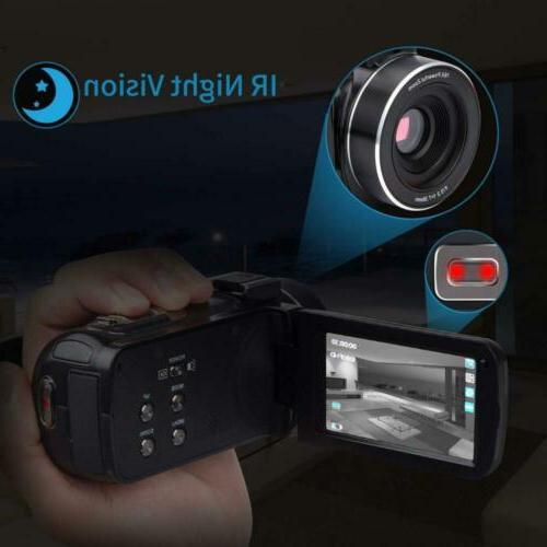 Camcorder Video Camera Kimire HD 1080P Digital with...