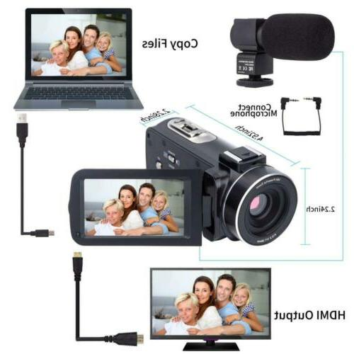Camcorder Camera HD 1080P 16X Digital