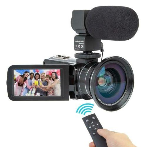 Camcorder Video Camera Kimire 16X Powerful Digital