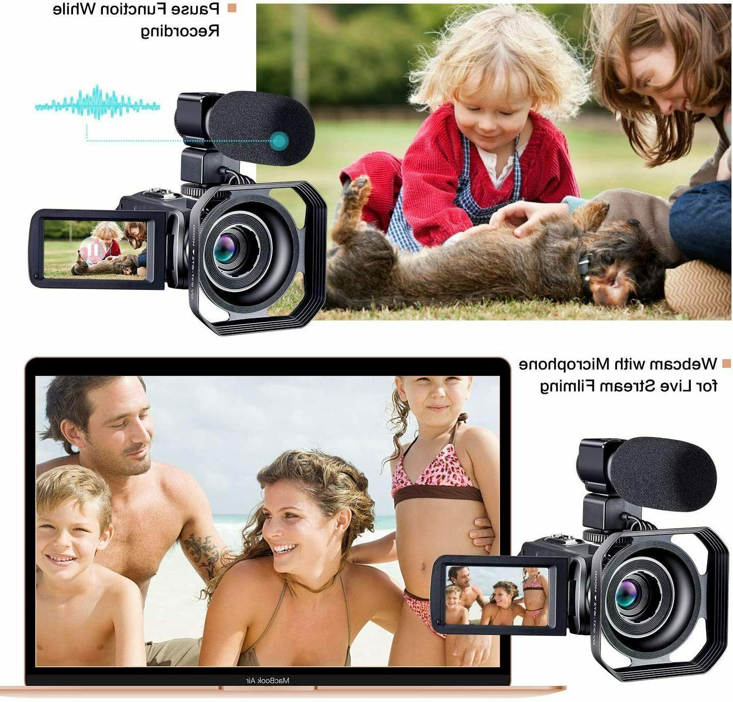 Camcorder HD Camera with Remot