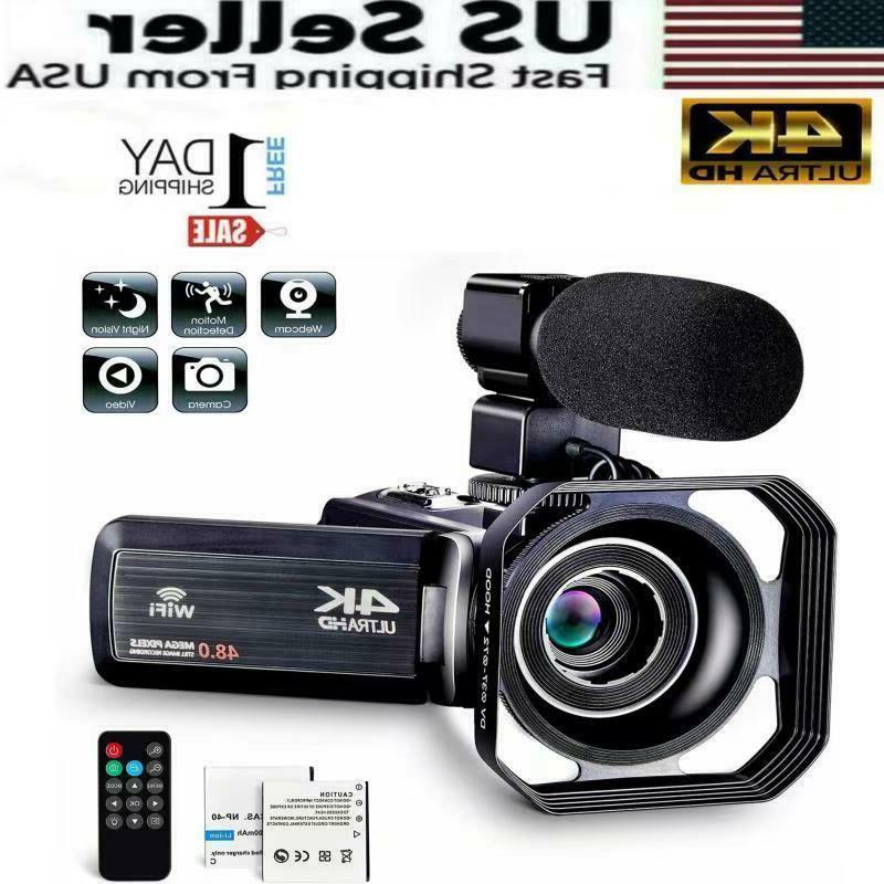 camcorder video camera ultra hd 4k 30mp