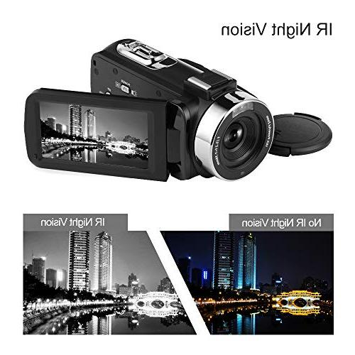 Seree Full Vlog Vision Digital Camera Micphone Video Camera YouTube