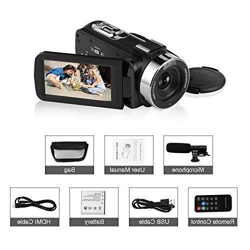 Seree Camcorder Digital Camera External Camera