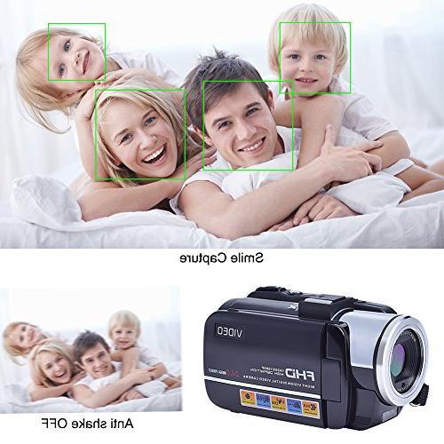 SEREE Video Camcorder Camera Zoom
