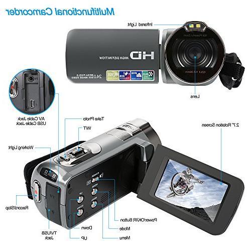 16MP 16X Digital Video LCD Rotation