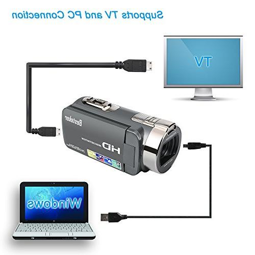 Camera 16MP 16X Video Camcorder LCD Degree Rotation