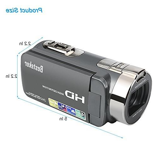 Camera HD 16MP 16X Video with LCD and 270 Degree Rotation