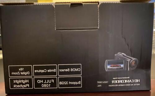 Seree Camcorder 1080p Digital Recording 20MP