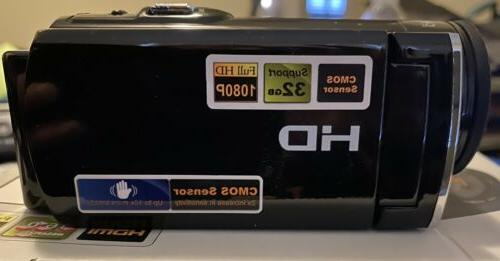 Seree Camera 1080p Digital Video 20MP 16x
