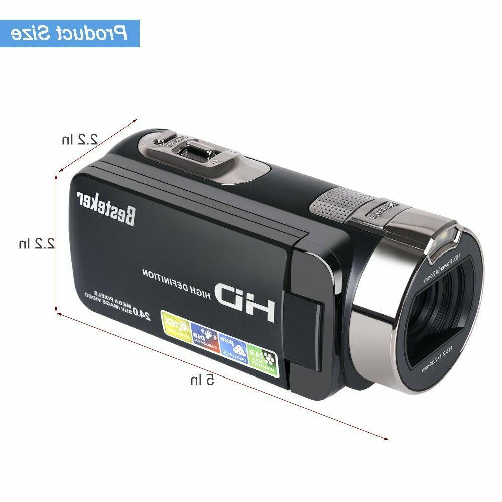 Camera 1080P 24 Digital Camcorder