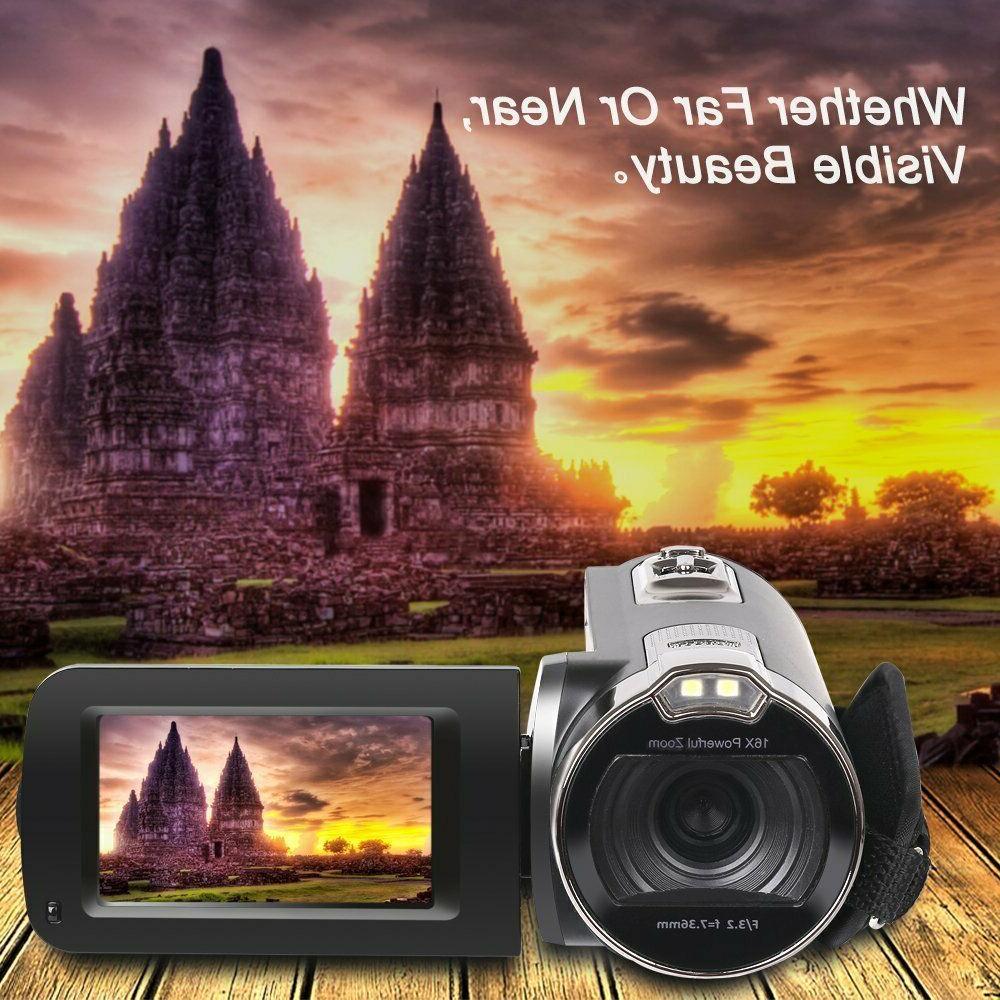 Camera Camcorders, 1080P Digital Video
