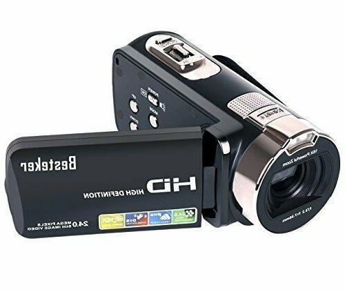 camera camcorders besteker hd 1080p 24 mp