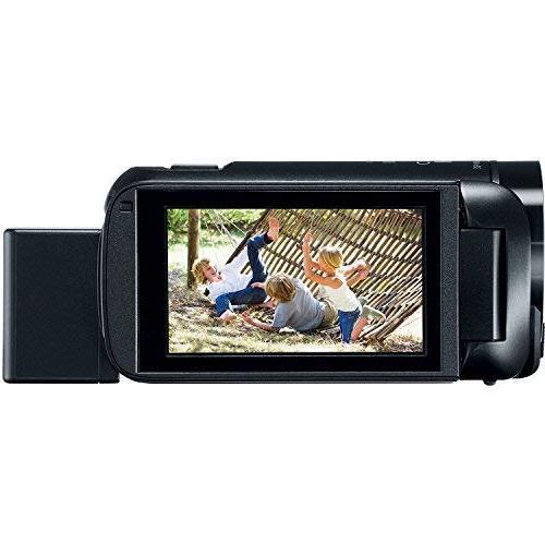 The Imaging R800 BK K1 Canon HF R800 57X Full 1080P Video Camcorder + Card + + + Kit Bundle