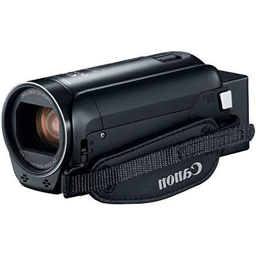 The Imaging World R800 BK Canon VIXIA HF R800 Full HD Camcorder + 64GB + Kit - Bundle