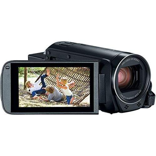 The Imaging World R800 BK HF R800 57X Zoom Full HD Camcorder + 64GB + + + Camera Cleaning