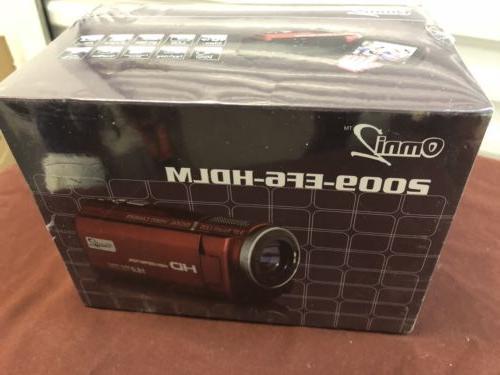 Omni 2 digital camcorder New In Box 16 Megapixels