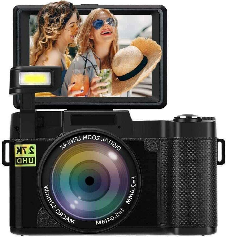 digital camera vlogging camera 2 7k 24mp