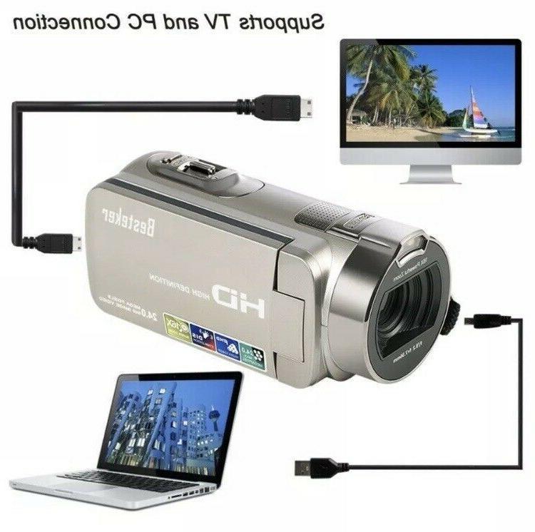 Digital HD 1080P 24 16X Rotating TFT