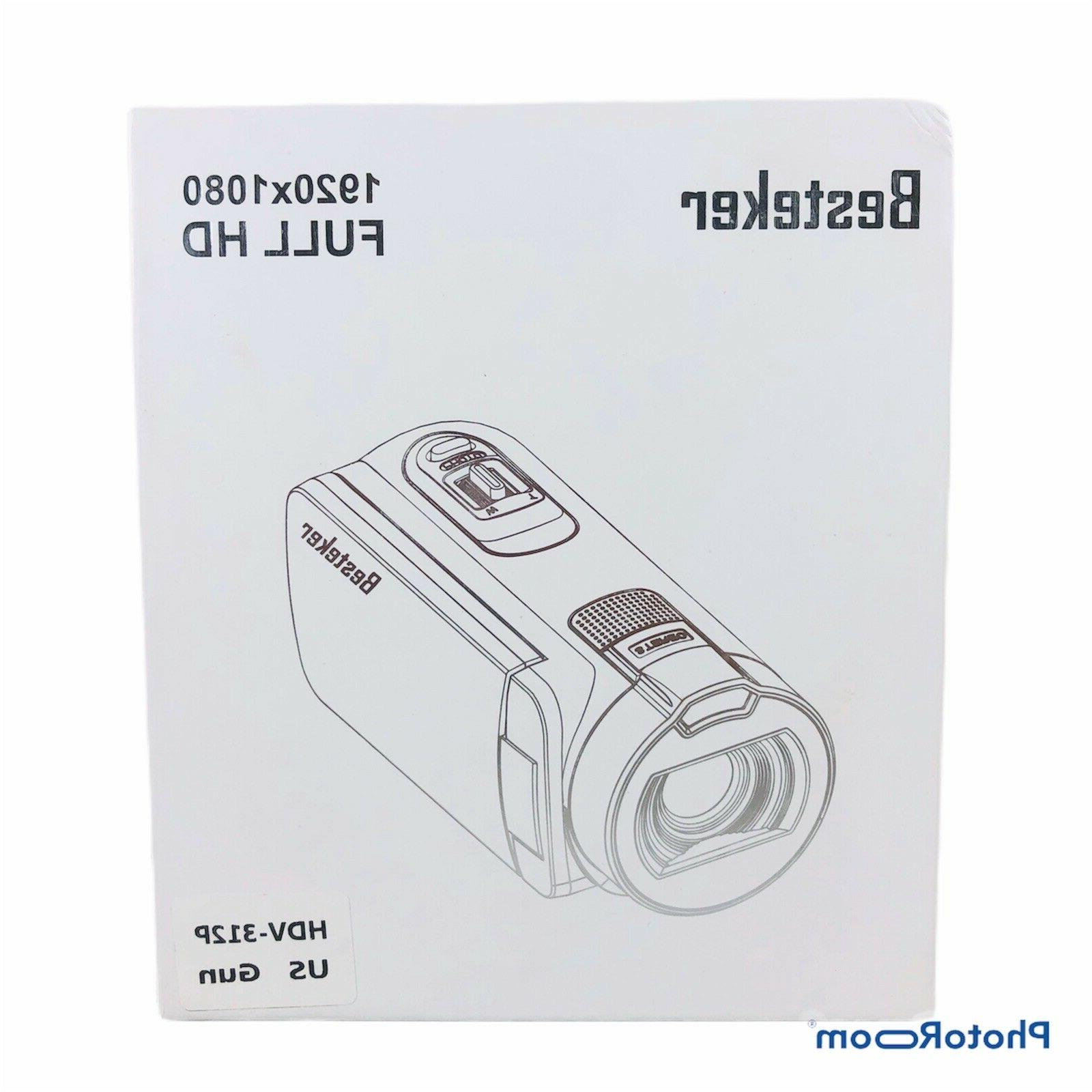 Digital Video HD 16X Digital Zoom Rotating TFT LCD