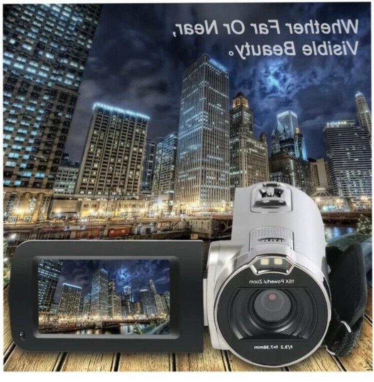 Digital Video HD 1080P 24 16X Zoom TFT LCD