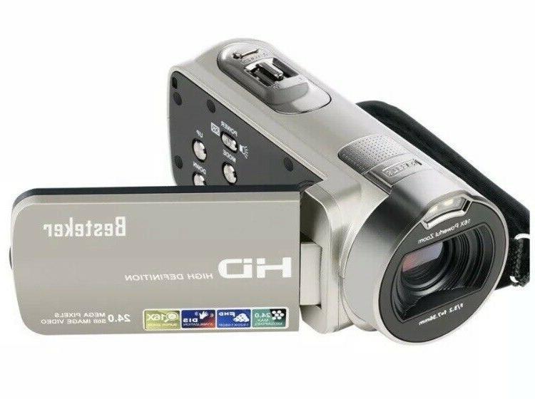 Digital HD 1080P 24 MP 16X Rotating TFT LCD