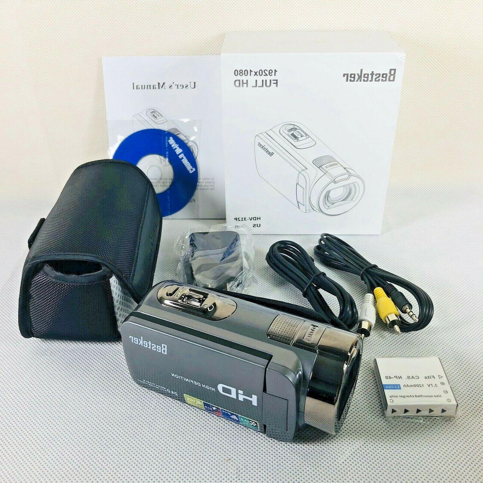 digital video camera camcorder hd 1080p 24