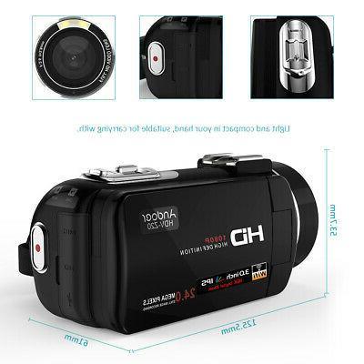 Digital DV Camera Camcorder FULL 24MP 16X Vision L5I3