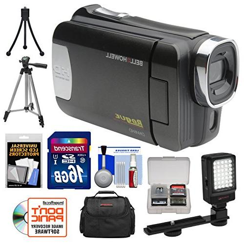 Bell Howell Rogue 1080p HD Video Camcorder 16GB + + + Kit