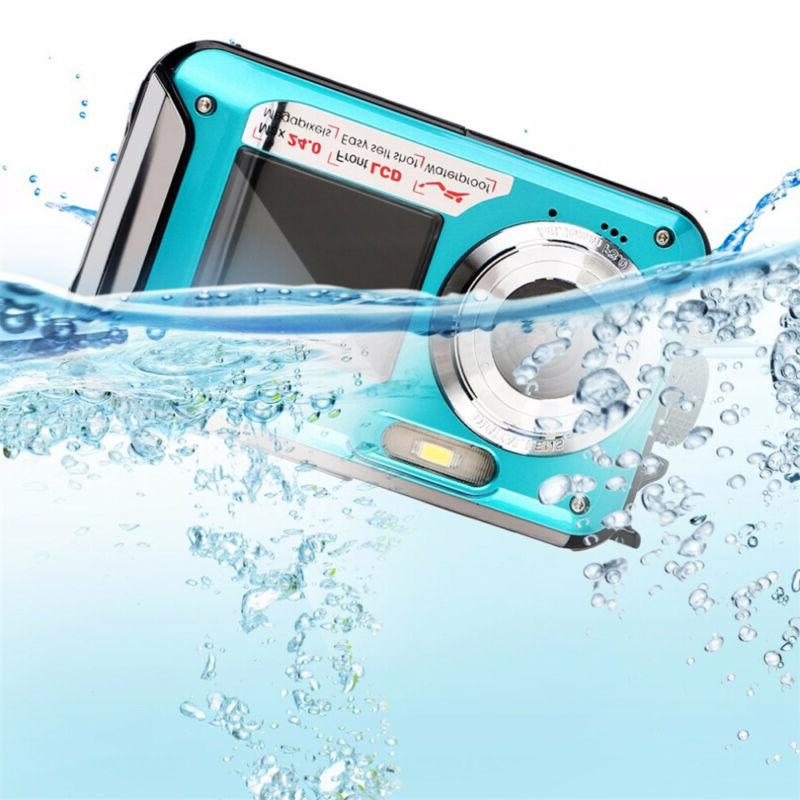 Double Screen Sports Diving Waterproof Camcorder