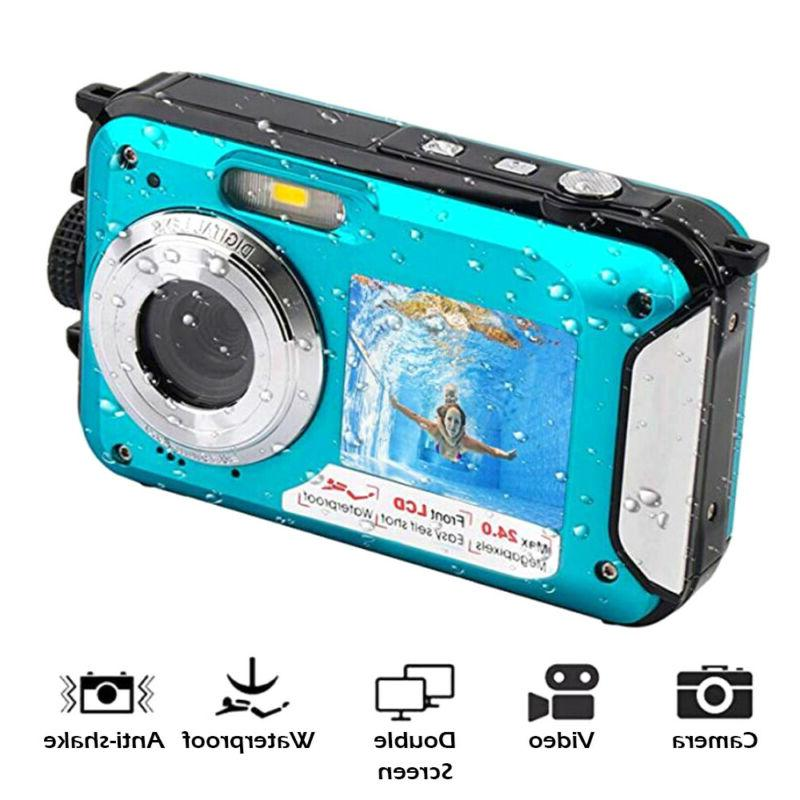 Double Sports Diving Video Waterproof