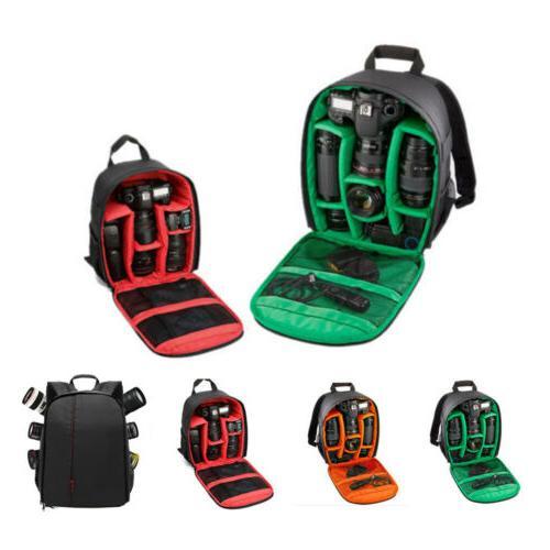 DSLR Camera Backpack Shoulder Bag Compact Photograph Waterpr