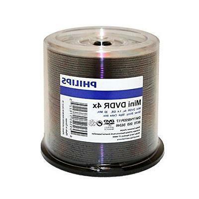 Philips Duplicator Grade DVD-R 8cm Mini 50PK