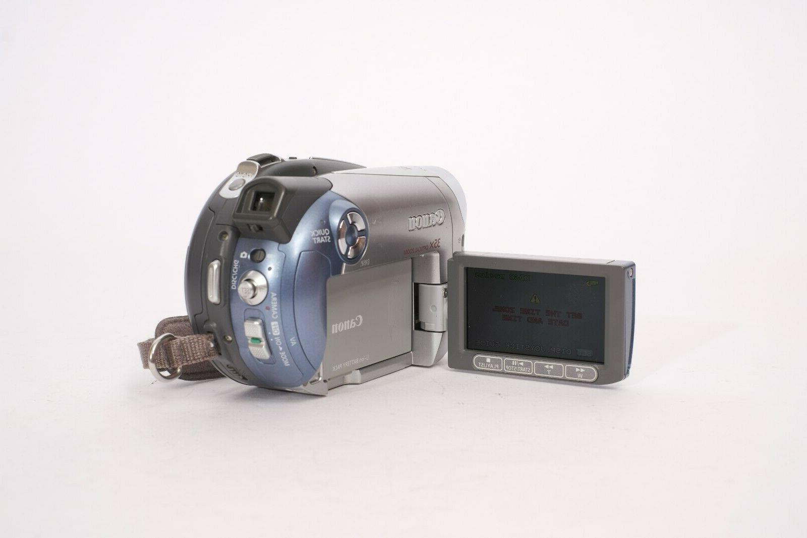 CANON DVD Camcorder With & - WORKS