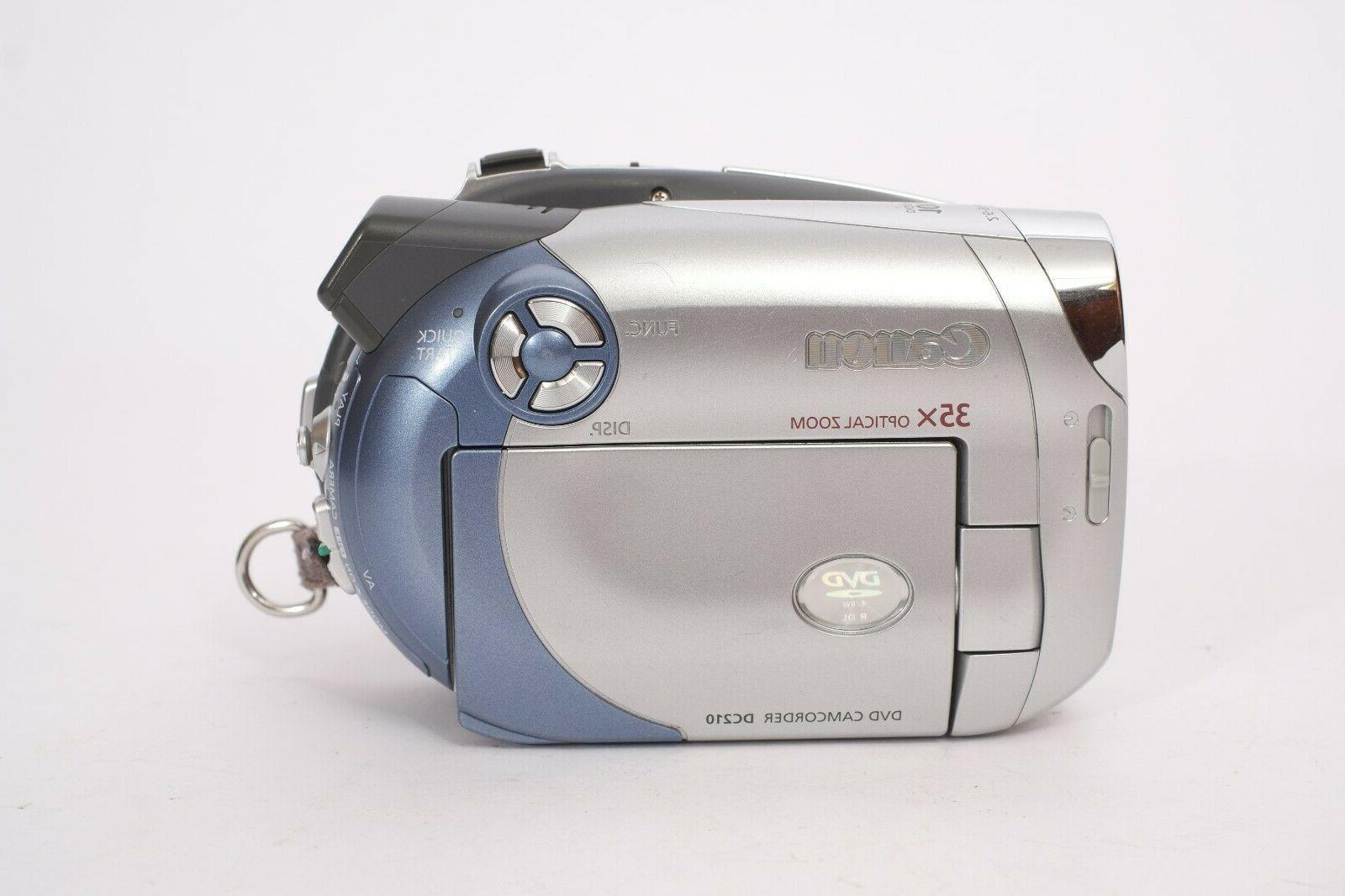 CANON DVD Camcorder With -