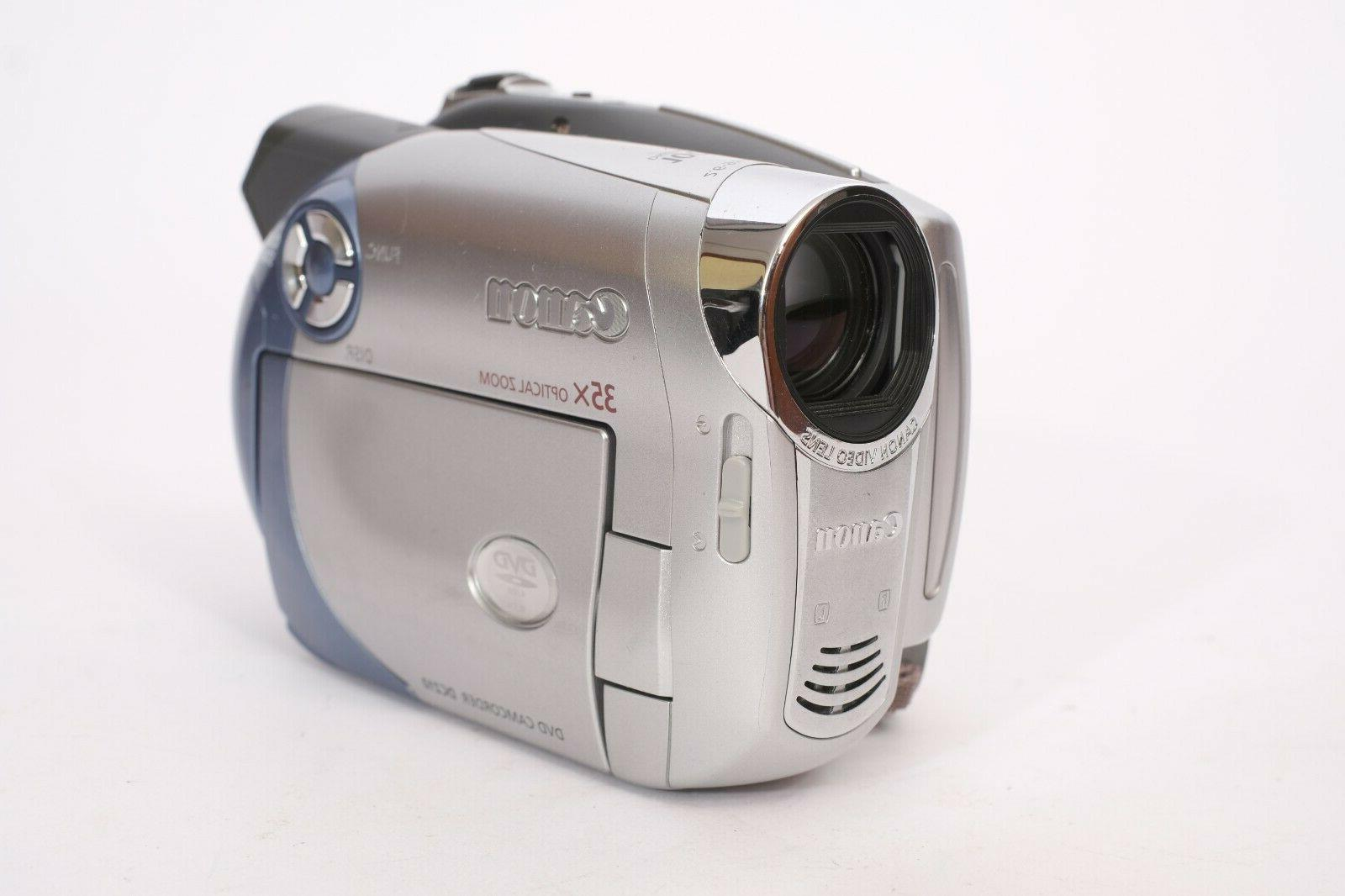 CANON Camcorder With Charger -