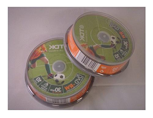 dvd rw spindle 10 camcorder