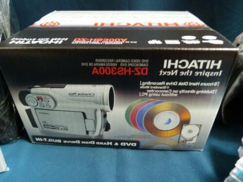 Hitachi Drive Video Camcorder NEW