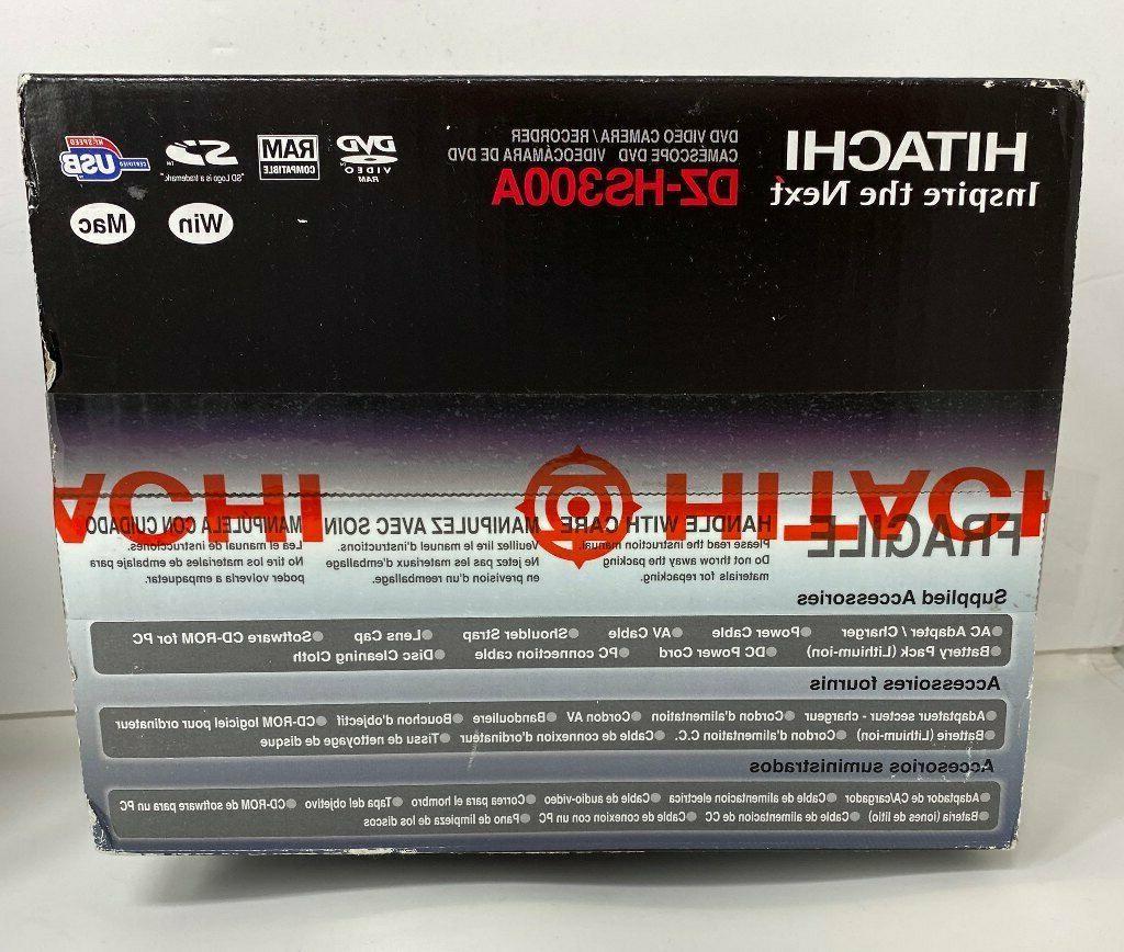 Hitachi DZ-HS300A Hybrid Camera/Recorder Disk Drive