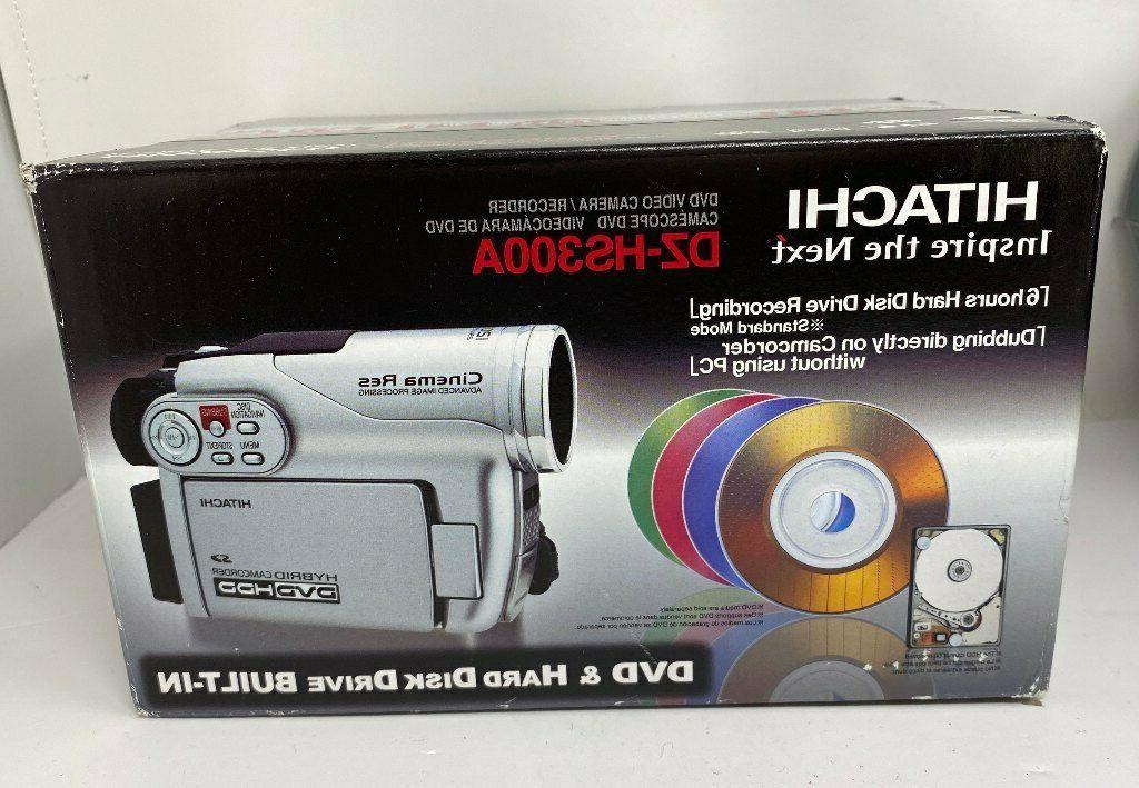 dz hs300a hybrid video camera recorder dvd