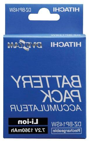 Hitachi DZBP14SW 2 Replacement Battery Hitachi Camcorders