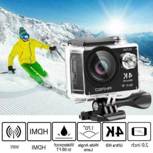 AKASO Ultra 4K Sports Action WIFI Camcorder Waterproof