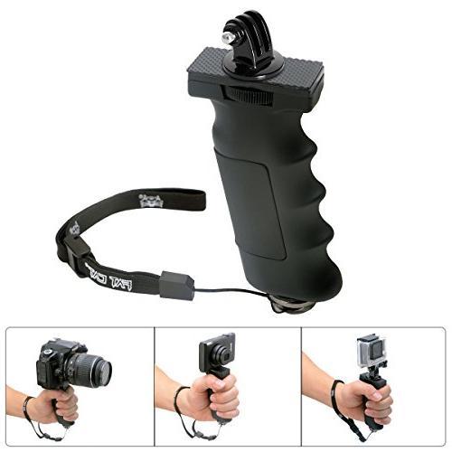 ergonomic action hand grip mount