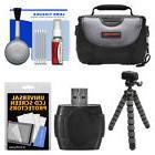 Essentials Case Bundle for Samsung HMX-F90 Q20 QF20 QF30 HD