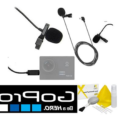 External Pro Lavalier Microphone For all GoPro Hero action c