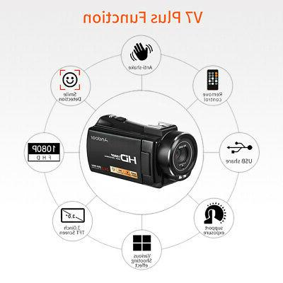 #US 24MP Digital Camera Camcorder Shoe Mount