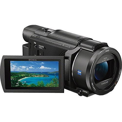 Sony FDR-AX53/B Camcorder with CMOS Sensor