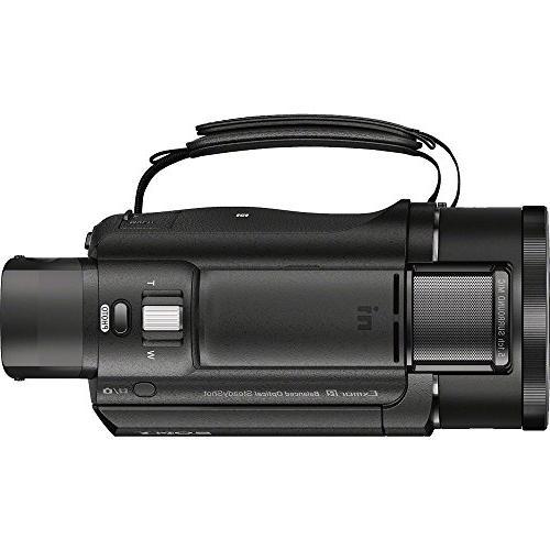 Sony FDR-AX53/B Camcorder Exmor CMOS Sensor Bundle